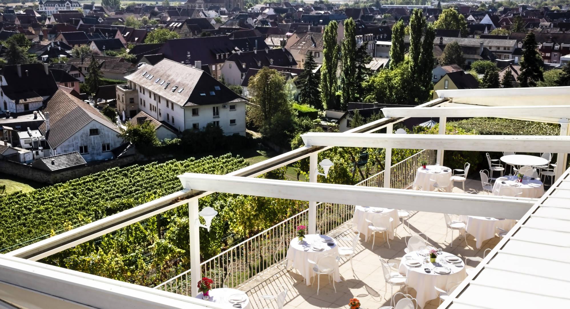 restaurant terrasse Alsace
